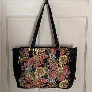 Jessica Simpson Leather Paisley design VGUC